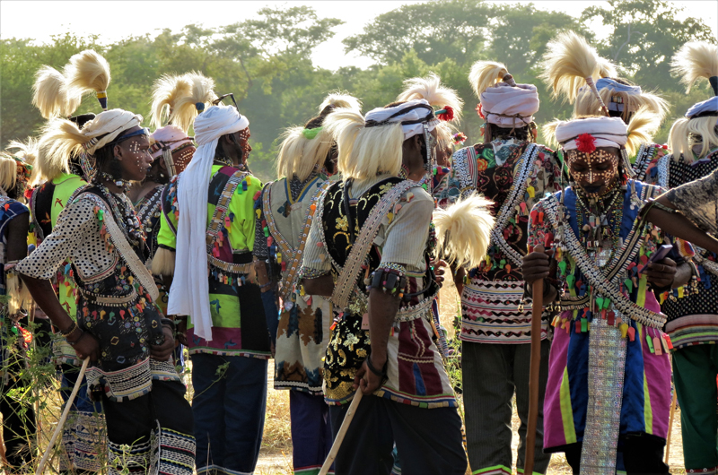 CHAD - RALLIES AND THE WODAABE FEASTS