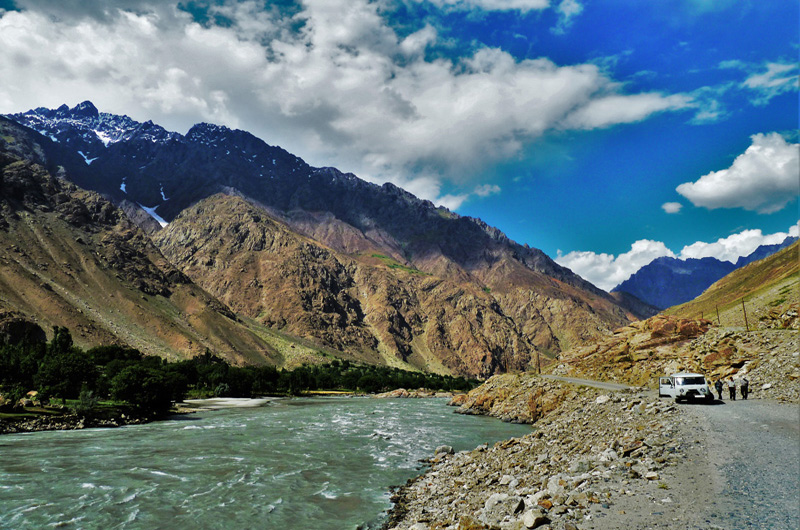 ASIA - PAMIR HIGHWAY AND WAKHAN CORRIDOR